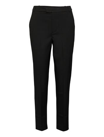 Lindex Trousers Polly Color Casual Housut Musta Lindex BLACK