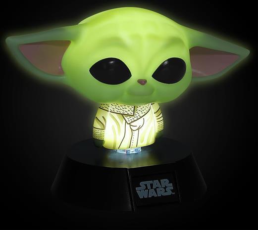 Star Wars - The Mandalorian - The Child (Baby Yoda) - Pöytälamppu - Unisex - Monivärinen