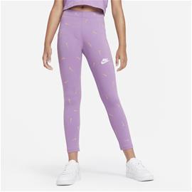 Nike G NSW FAVORITES LEGGING AOP VIOLET STAR