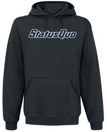 Status Quo - Britain Logo Guitars - Huppari - Miehet - Musta