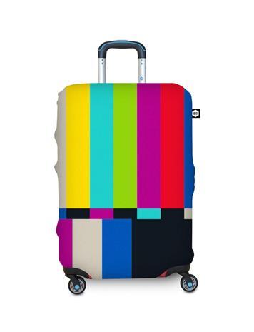 BG Berlin matkalaukun suojapussi, keskikoko, kirjava