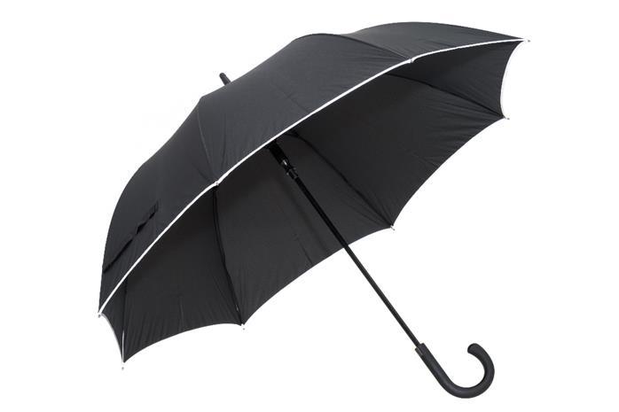 Acces-sateenvarjo, musta