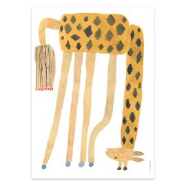 OYOY Noah giraffe upside down -juliste 50x70 cm Multi