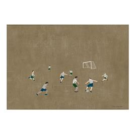 Fine Little Day Fotboll juliste 50x70 cm Ruskea