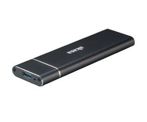 Akasa NVMe (USB-C 3.1 gen 2, 1x M.2 SATA) AK-ENU3M2-02, ulkoinen kiintolevykotelo
