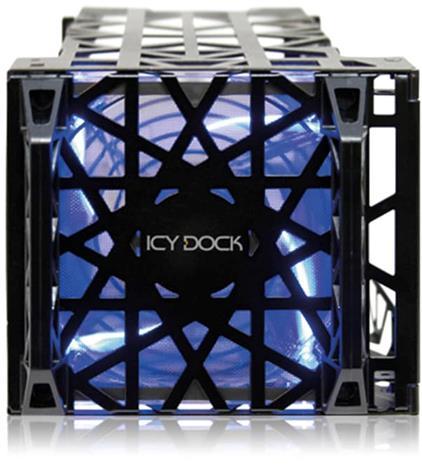 "ICY DOCK Black Vortex (3,5"", IDE/SAS/SATA) MB074SP-B, HDD-kovalevykotelo"