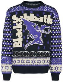 Black Sabbath - Holiday Sweater 2020 - Jouluneule - Miehet - Monivärinen