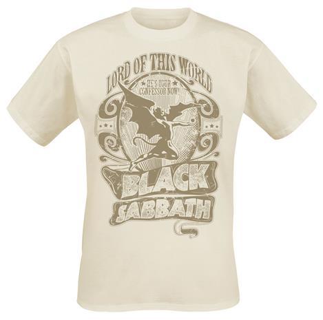 Black Sabbath - Lord Of This World - T-paita - Miehet - Luonnonvalkoinen