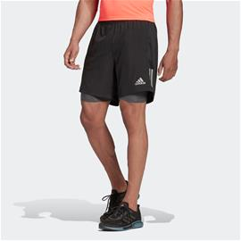 adidas Own the Run Two-in-One Shorts