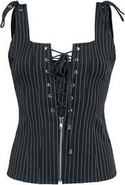 Gothicana by EMP - Viola - Toppi - Naiset - Musta