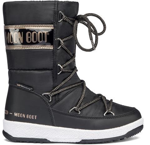 Moon Boot Quilted WP Winterboots Girls, black/copper, Lasten kengät