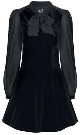 Hell Bunny - Gabriella Mini Dress - Lyhyt mekko - Naiset - Musta