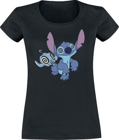 Lilo & Stitch - Stay Hypnotized - T-paita - Naiset - Musta