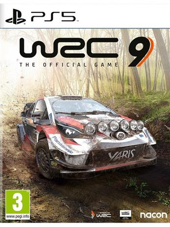 WRC 9 World Rally Championship, PS5 -peli