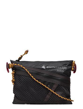 Klättermusen Algir Accessory Bag Small Olkalaukku Laukku Musta Klättermusen RAVEN