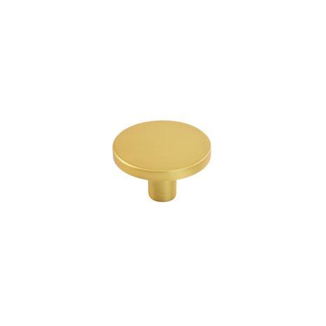 Beslag Design Knob Como Big 41, Brushed Brass