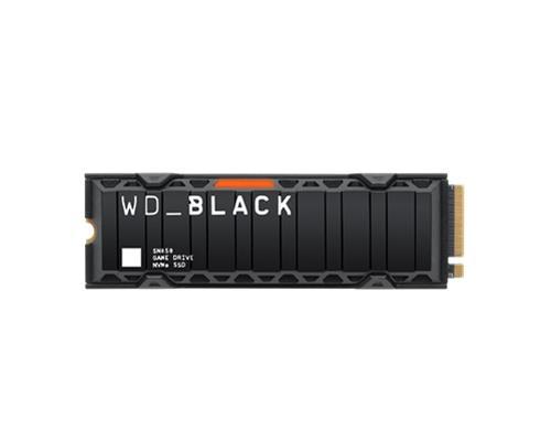 WD Black SN850 NVME (1 TB, M.2 2280, PCIe Gen4 x4) WDS100T1XHE, SSD-kovalevy