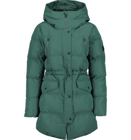Everest W WARM PARKA DARK GREEN