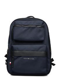 Tommy Hilfiger Elevated Nylon Utility Backpack Bags Backpacks Casual Backpacks Sininen Tommy Hilfiger DESERT SKY