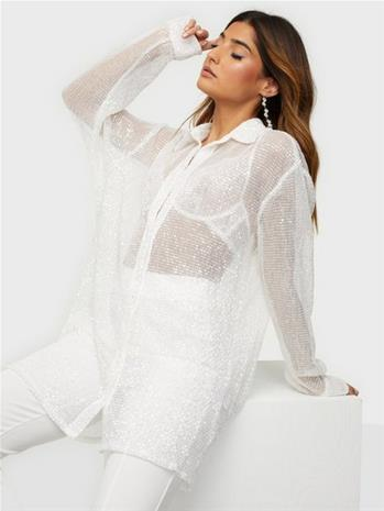 NLY Trend Oversize Sparkle Shirt