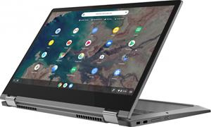 "Lenovo IdeaPad Flex 5 Chromebook 82B80001MX (Core i3-10110U, 4 GB, 64 GB SSD, 13,3"", Chrome OS), kannettava tietokone"