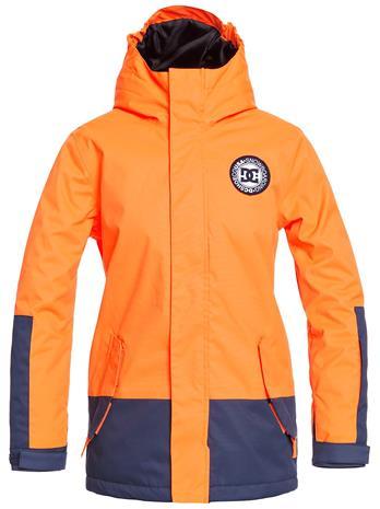 DC Blockade Jacket shocking orange Jätkät