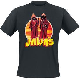 Star Wars - Jawas - T-paita - Miehet - Musta