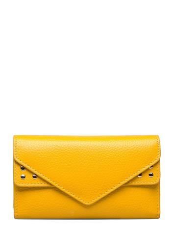Adax Berlin Wallet Sharon Bags Card Holders & Wallets Wallets Keltainen Adax YELLOW