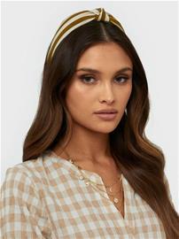 Pieces Pcnala Hairband Sww Tummankeltainen
