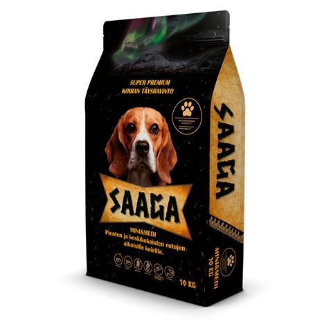 Saaga Mini & Medi 10 kg koiran täysravinto