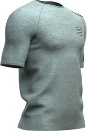 Compressport Training SS T-Shirt Men, grey