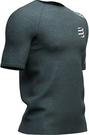 Compressport Training SS T-Shirt Men, dark grey