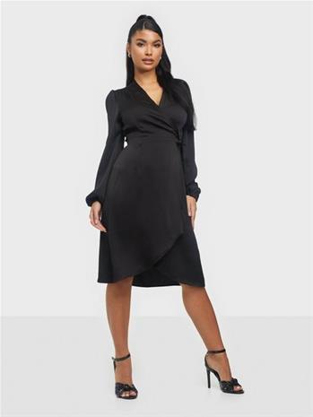 Vero Moda Vmerin Gamma L/S Wrap Dress SB1