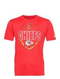 NIKE Fan Gear Kansas City Chiefs Nike Icon Essential T-Shirt T-shirts Short-sleeved Punainen NIKE Fan Gear UNIVERSITY RED