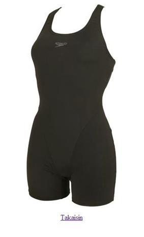 Speedo Essential End Myrtle Legsuit W naisten uimapuku musta