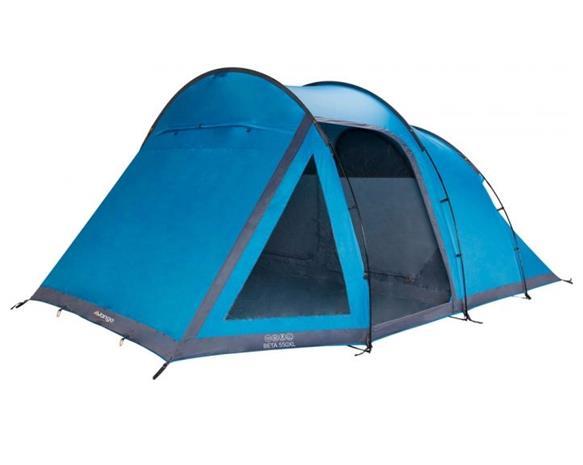 Vango Beta 550 XL viiden hengen teltta, vihreä tai sininen