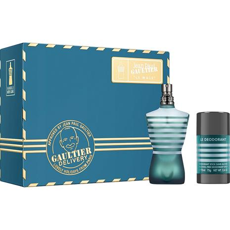 Jean Paul Gaultier Le Male Gift Set: EdT 75ml + Deostick 75g