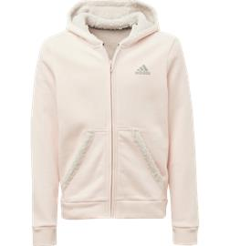Adidas G MUST HAVE WINTER FZ HOODIE PINK TINT