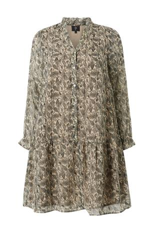 ZAY Mekko ygAbry L/S Knee Dress