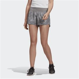 Adidas W RUN IT SHORT WASHED LOOK GREY THREE