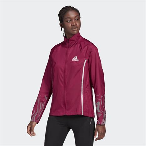 Adidas W GLAM ON JACKET POWER BERRY