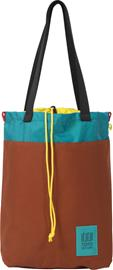 Topo Designs Cinch Tote Lukku, clay/turquoise