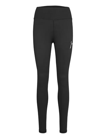 Famme Black Essential High Waist Tights Running/training Tights Musta Famme BLACK