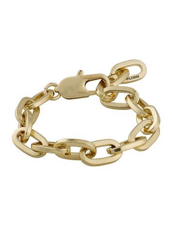 Pilgrim Bracelet Tolerance Accessories Jewellery Bracelets Chain Bracelets Kulta Pilgrim GOLD PLATED