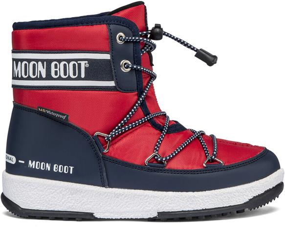 Moon Boot Mid WP 2 Kengät Pojat, blue/red