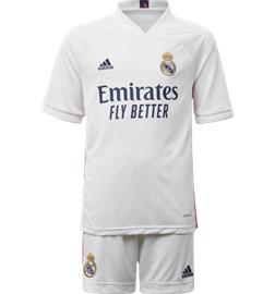 Adidas K REAL MADRID 20/21 HOME KIT WHITE