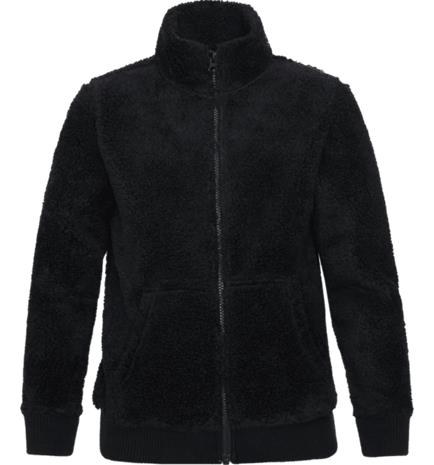 Peak Performance J ORIGINAL PILE ZIP BLACK