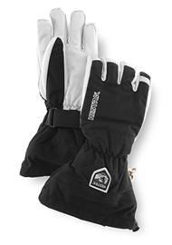 Hestra Army Leather Heli Ski sormikas, musta