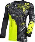 O'Neal Element Pyöräilypaita Miehet, ride-black/neon yellow