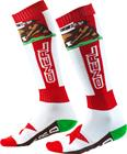 O'Neal Pro MX sukat, california-red/white/brown